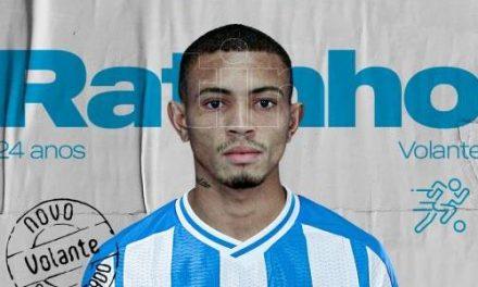 Ratinho é anunciado no Paysandu com contrato até o final de 2021