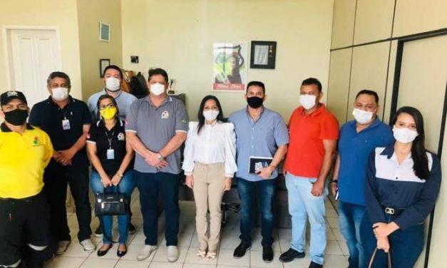 Prefeita Nilma Lima reúne com o Detran sobre implantação do Ciretran em Moju