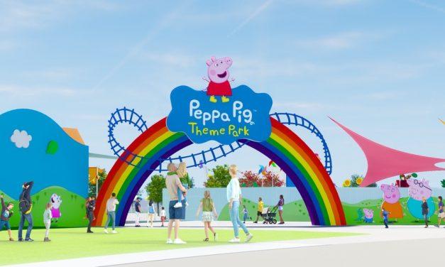 Parque temático da Peppa Pig será inaugurado em 2022 na Flórida