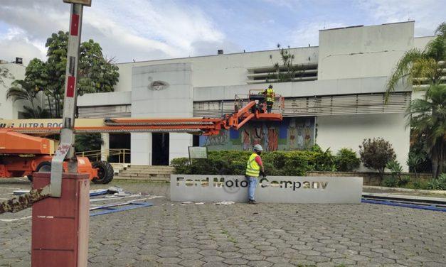 Fábrica da Ford em São Bernardo do Campo começa a ser demolida