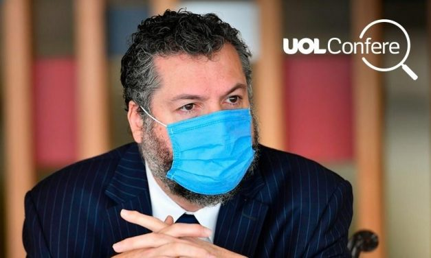Ernesto Araújo mente 3 vezes ao rebater CNN americana sobre a pandemia