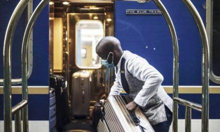 Bem-vindo a bordo do luxuoso Trem Azul sul-africano, longe da covid-19