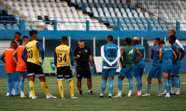 Ainda com indefinição sobre rotina no lockdown, jogadores do Papão realizam testes de Covid