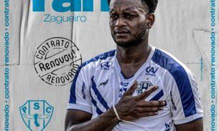 Paysandu anuncia renovação de contrato com o zagueiro Yan até o final de 2021