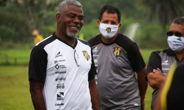 """Cacaio promete equipe competitiva do Castanhal: """"Agora é trabalhar"""""""