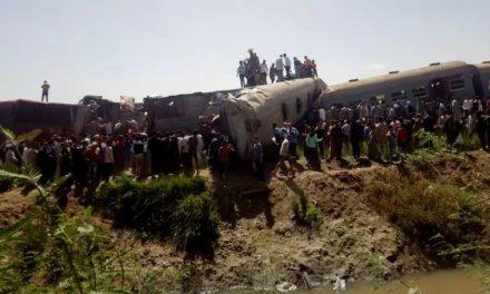 Colisão entre dois trens deixa ao menos 32 mortos e 91 feridos no Egito