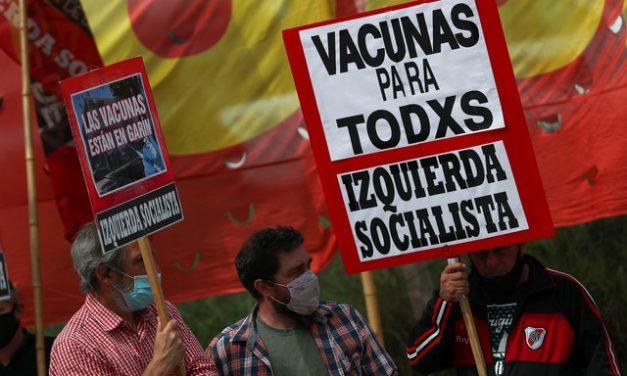 Número de casos de Covid-19 aumenta na Argentina