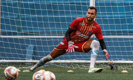 Defesa de Victor Souza contra o Madureira concorre como a mais bonita da 1ª fase da CdB