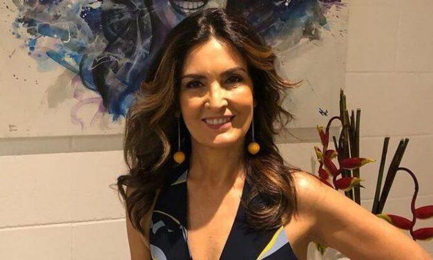 """Fátima Bernardes surpreende ao registrar treino na academia: """"Hoje foi aos trancos e barrancos"""""""