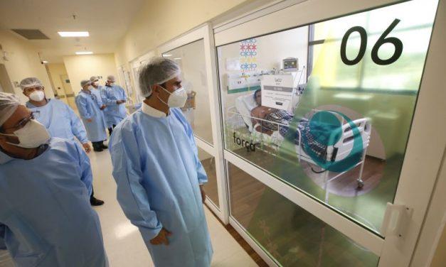 Estado ultrapassa a marca de dois mil leitos exclusivos para tratamento da Covid-19