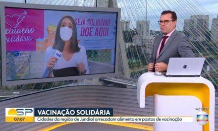 """Repórter da Globo é cortada ao vivo ao ser atrapalhada por grito de """"Globo lixo"""""""