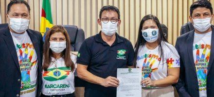 """Câmara recebe três projetos de lei e o programa """"Cuida Barcarena"""" de renda emergencial"""