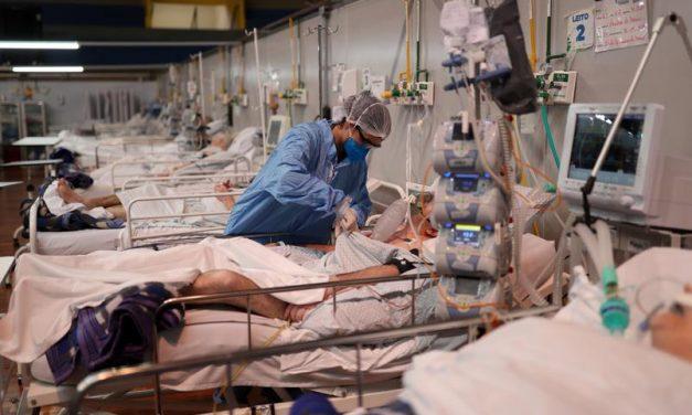 Internações por Covid-19 aumentam 190% no Pará; e 170 pacientes esperam por leitos em Belém
