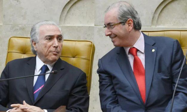 Temer 'lutou de todas as maneiras' para derrubar Dilma, diz Cunha em livro