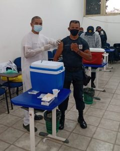 Profissionais da Saúde continuam a ser imunizados contra a Covid-19, em Marituba