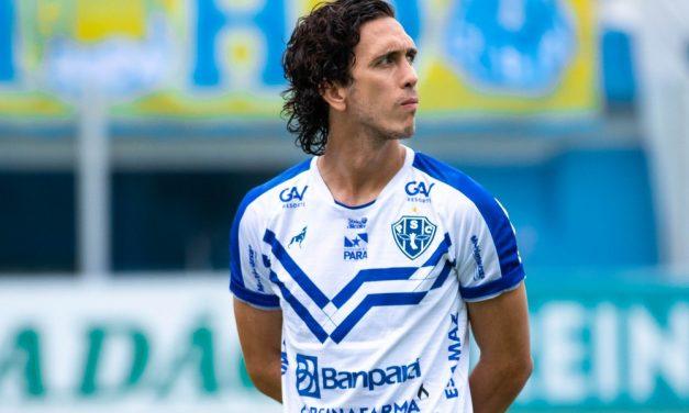 Com dois gols no Re-Pa, Nicolas se torna o maior artilheiro do Paysandu em clássicos no século