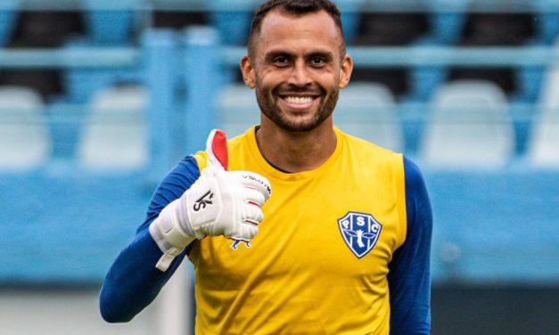 Defesa do goleiro do Paysandu contra o Madureira é eleita a mais bonita da 1ª fase da Copa do Brasil