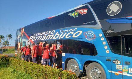 """Com """"lockdown"""" em Bragança, equipe do Bragantino-PA viaja a Castanhal para seguir treinos"""
