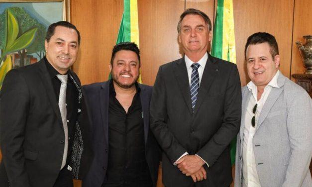 Empresário que reuniu sertanejos e Bolsonaro está intubado