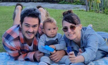 """Marcos Veras celebra 8 meses do filho, Davi e se derrete: """"Amor purinho"""""""