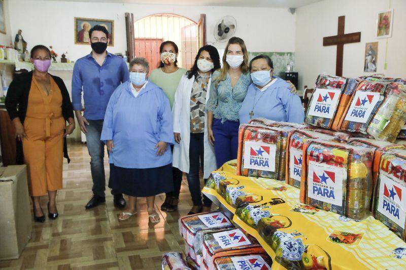 Estado entrega mais 280 cestas de alimentos a cinco abrigos na Região Metropolitana