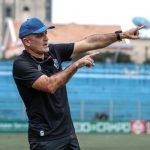 Mesmo eliminado, Schulle fica satisfeito com evolução do Paysandu diante do CRB