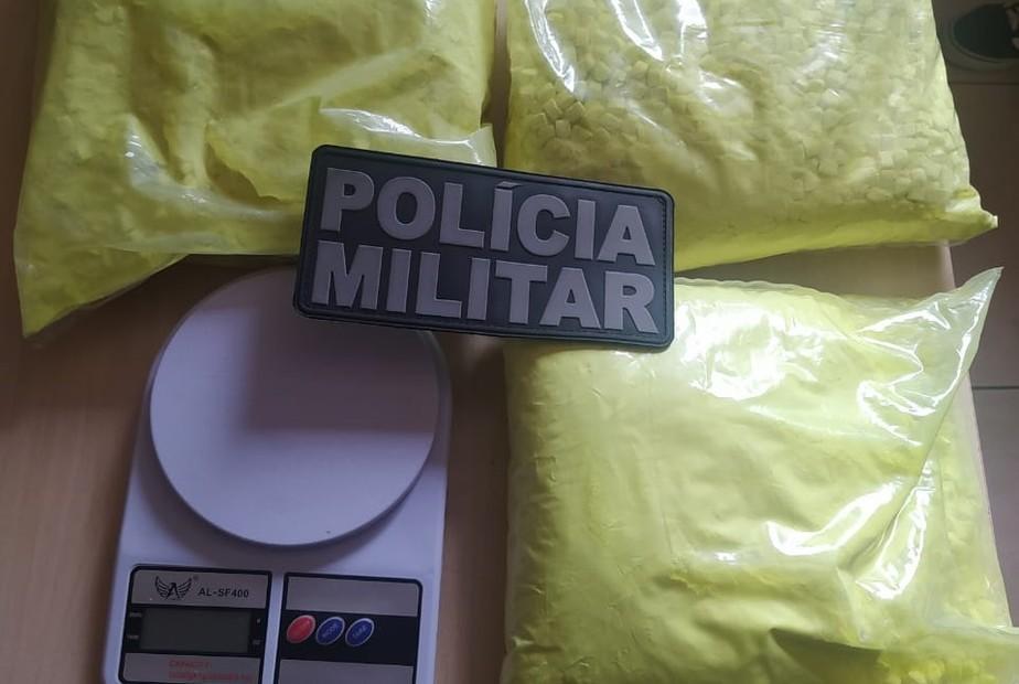 PM apreende 2,5 kg de ecstasy em Barcarena, no Pará