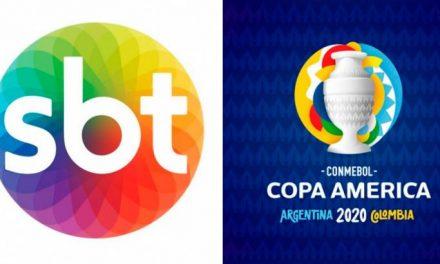 """SBT fecha acordo pela Copa América e """"ganha"""" outras competições da Conmebol"""