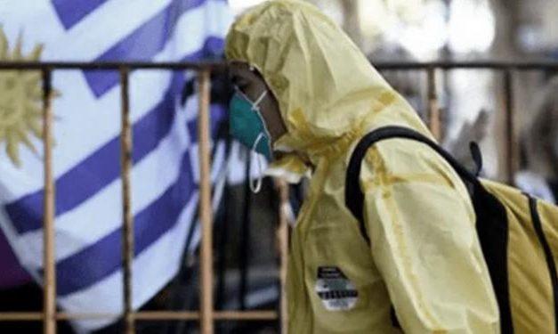 Uruguai tem maior taxa de contágio por coronavírus do mundo