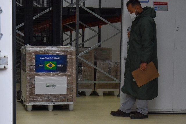 Insumo para produção de doses da CoronaVac chega a SP no dia 19 de abril, diz Dimas Covas