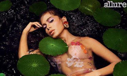 """Anitta estampa capa da """"Allure"""" e falou sobre plásticas: """"Gosto de mudar"""""""