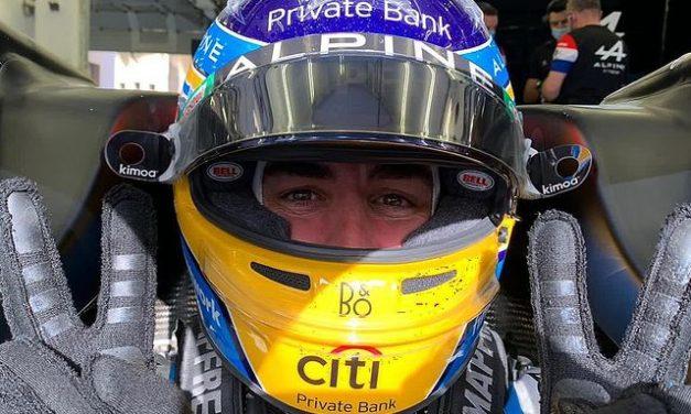 F1: Alonso quer desfrutar mais em Ímola após abandono no Bahrein