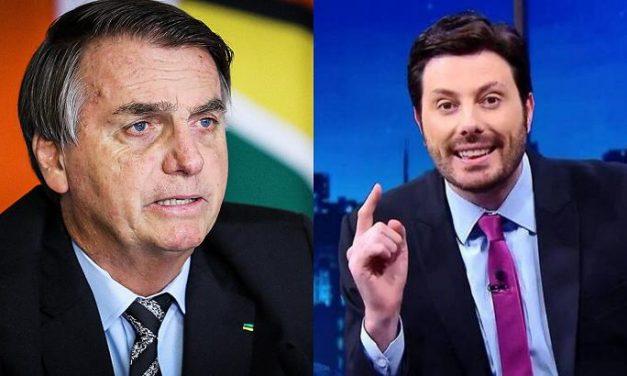 """Danilo Gentili critica comentário de Bolsonaro: """"Ditador a gente sabe o que merece"""""""