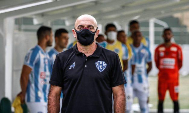 Técnico Itamar Schulle poupa palavras após vitória magra do Paysandu contra o Tapajós