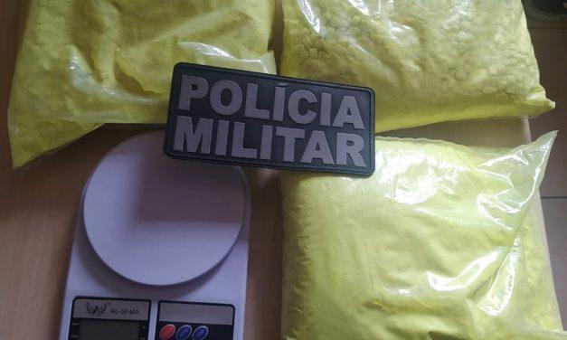 Em Barcarena, PM prende suspeitos de tráfico de drogas