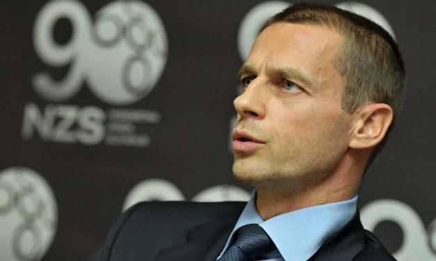 """Presidente da Uefa: """"Não sabíamos que existiam cobras perto de nós"""""""