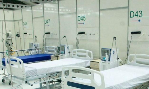 Boletim mostra redução na ocupação de leitos clínicos
