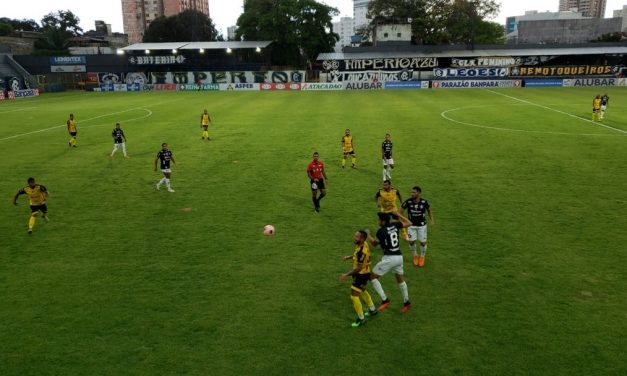 Leão vence o Japiim em clássico paraense no estádio Baenão