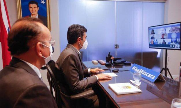 Helder debate sobre investimentos portuários em Barcarena