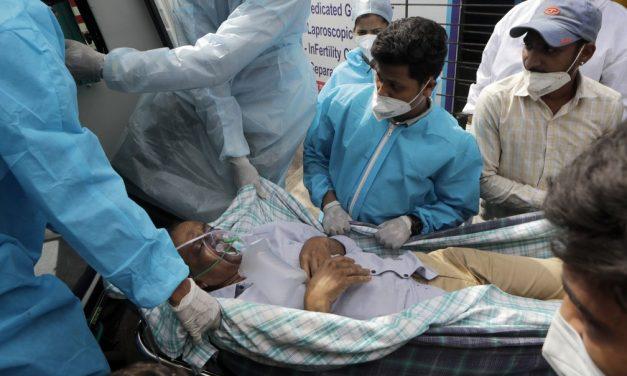 Puxado pela Índia, mundo registra novo recorde diário casos de Covid