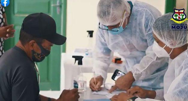 Ação itinerante e vacinação contra o covid-19 chega a Vila Elim