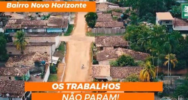 Prefeitura de Moju iniciou as obras de terraplanagem no bairro Novo Horizonte