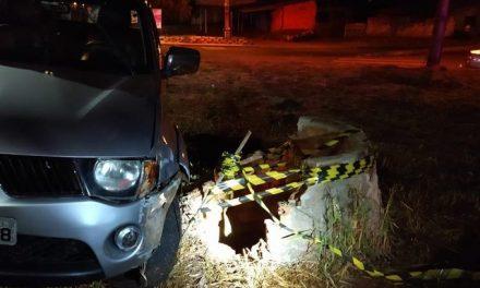Homem bate carro, desce para ver estrago e cai em poço de 15 metros de profundidade, em Cascavel