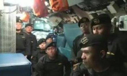 Tripulantes de submarino que naufragou se despedem com canção; veja o vídeo