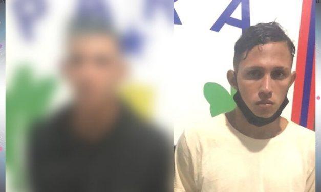 Dupla é presa após assalto em frente a panificadora em Tailândia