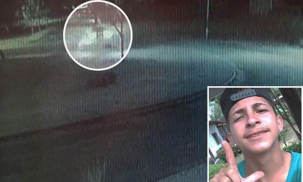 Vídeo mostra momento exato de acidente que vitimou jovem em Tailândia