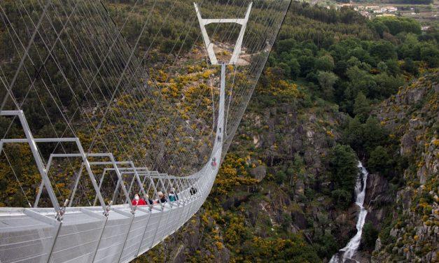 Portugal inaugura maior ponte suspensa de pedestres do mundo