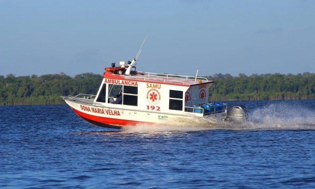 Ambulancha usada pelo Samu é roubada em Portel, no Marajó