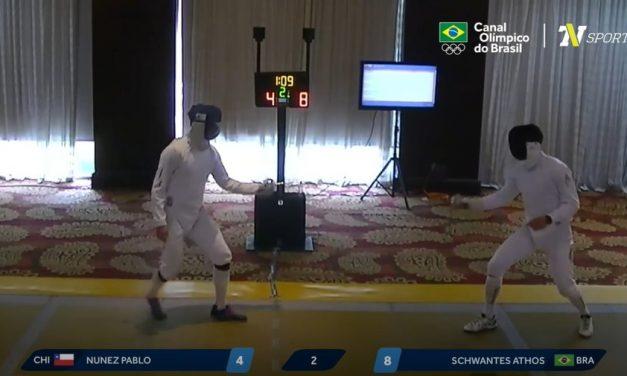 Esgrima do Brasil cai nas semis do pré-olímpico e não consegue novas vagas em Tóquio