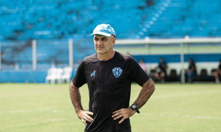 """Schülle relativiza desempenho ruim do Paysandu e elege """"culpado"""": o gramado"""